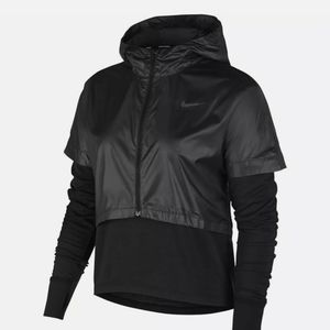 Nike Therma Element 2 in 1 jersey and hooded top